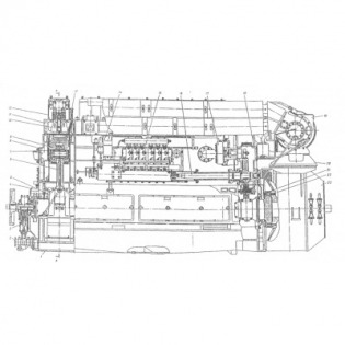 Дизель-генератор ПДГ1М, 1-ПДГ4А