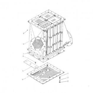 Охладитель наддувочного воздуха гр44
