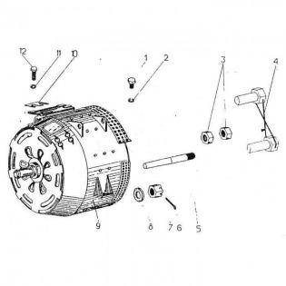 Соединение двигателя с генератором 03гр