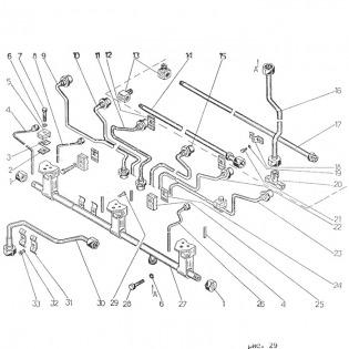 Трубопровод топливный гр23