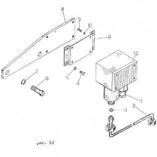 Установка датчика реле давления Д250Б гр.50